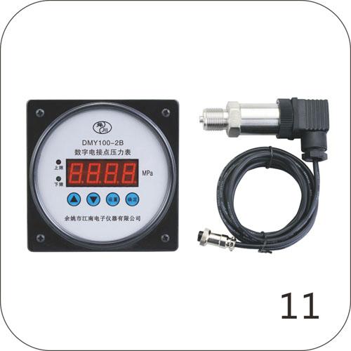 DMY100-2B数字电接点压力表(不锈钢分体式)2