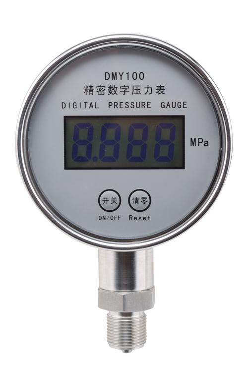 DMY100液晶型精密数字压力表